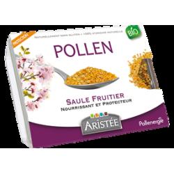 Pollen saule fruitier