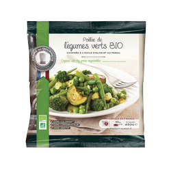 Poelee de legumes verts cuisin