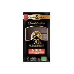 Tablette de chocolat  noir. 70