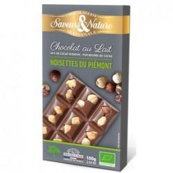 Chocolat lait 40% de cacao. no