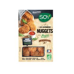 Nuggets vegan. soja et ble