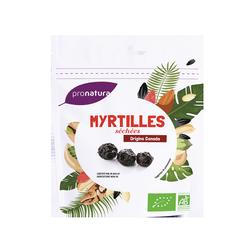 Myrtilles sechees. canada